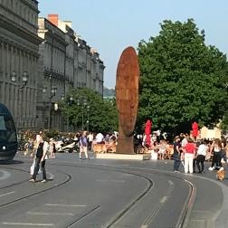 Bordeaux -Place de la Comédie, 3D Head sculpture